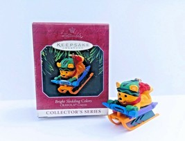 Hallmark Ornament Crayola Bright Sledding Colors 10th In Collector's Ser... - $12.30