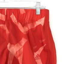 Adidas Donna Activewear Pantaloncini Corsa Misura Piccolo 3 'Rosso Stampa Tirare image 3