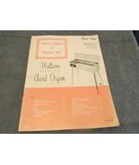 Variety Album Of Popular Hits Multivox Electric Chord Organ Sheet Music - $7.99