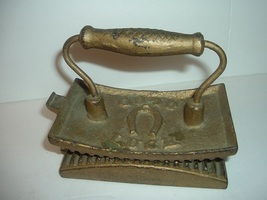 Antique Good Luck Horse Shoe DC Place LL Brill Heavy Metal Fluter - $79.99