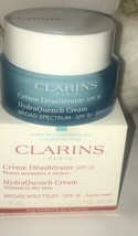 Clarins HydraQuench Cream 1.7 oz SPF 15 Normal to Dry Skin~New In Box~Se... - $32.64