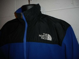 Vintage 80s Blue The North Face Gore-tex  Fleece Zip Up Jacket Coat XL - $49.99