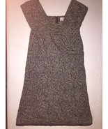 Anthropologie Moulinette Soeurs Dress Black & White Green Trimming size 2 - $25.67