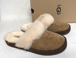 UGG AUSTRALIA SLIPPERS Shoes Slides AIRA Chestnut SUEDE 1007728 Women's - $79.99
