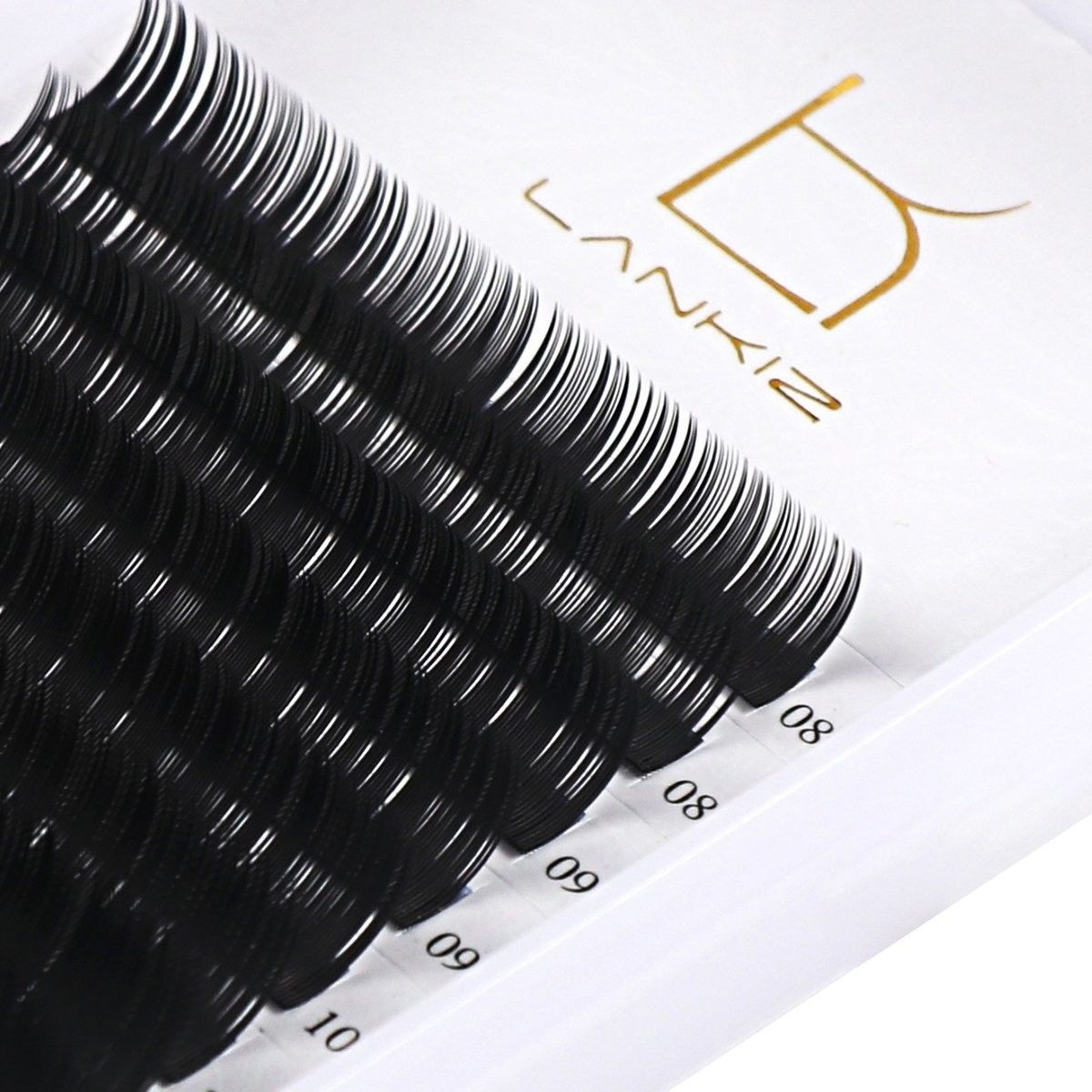 Primary image for False Eyelash Extensions C Curl 0.20 mm Regular 8-14 mm Mixed Tray Kit Long 3d S