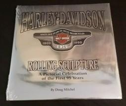 HARLEY DAVIDSON Rolling Sculpture Pictorial 95 Years Hardback Book SEALE... - $21.00
