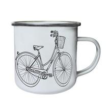 Vintage Bicycle Collection Art  Retro,Tin, Enamel 10oz Mug e216e - $13.13