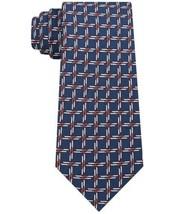 Tommy Hilfiger Men's Slim Skiing Silk Tie (Blue) - $49.47