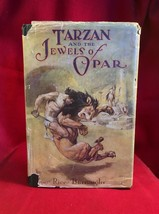 Edgar Rice Burroughs TARZAN AND THE JEWELS OF OPAR 1st DJ - $3,430.00