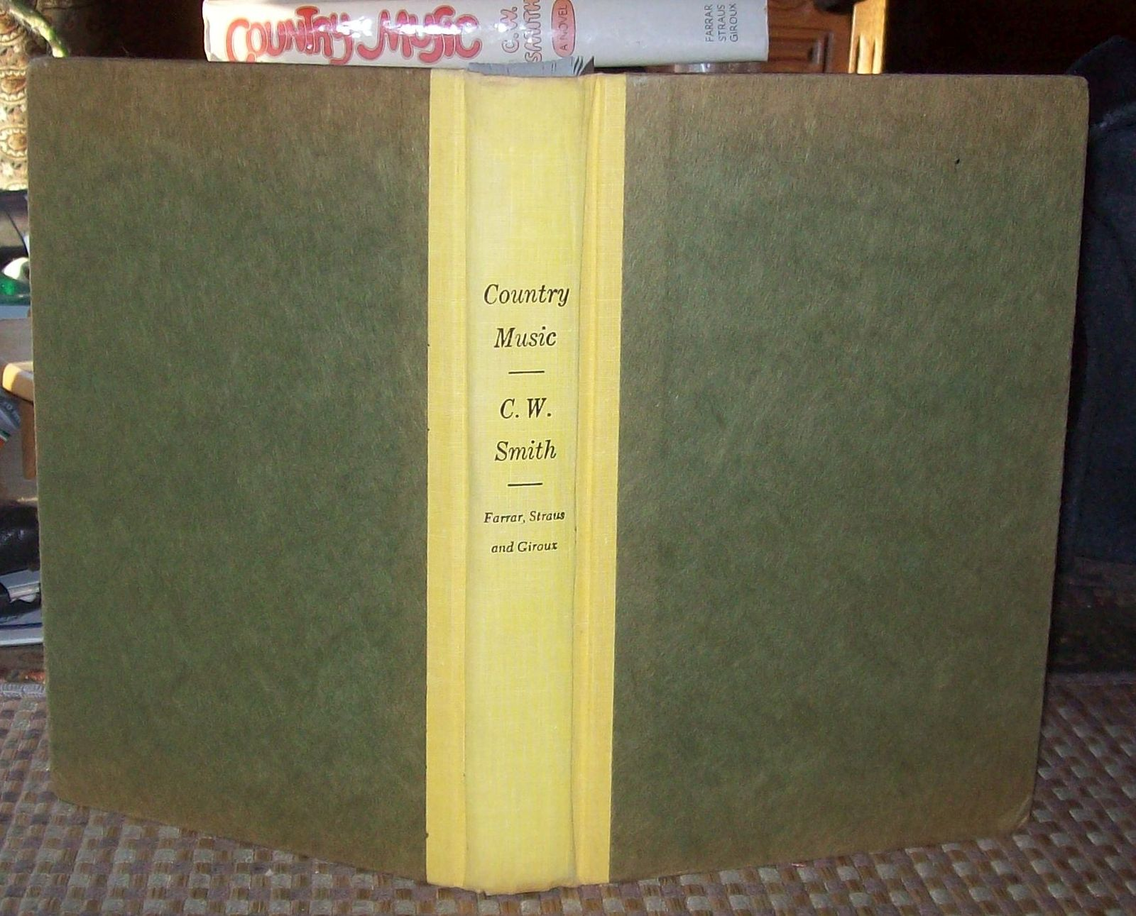 Country Music by C.W. Smith 1975 HBDJ Most Unlikely to Succeed