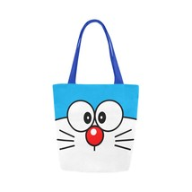 Doraemon Canvas Tote Bag Two Sides Printing - $17.99