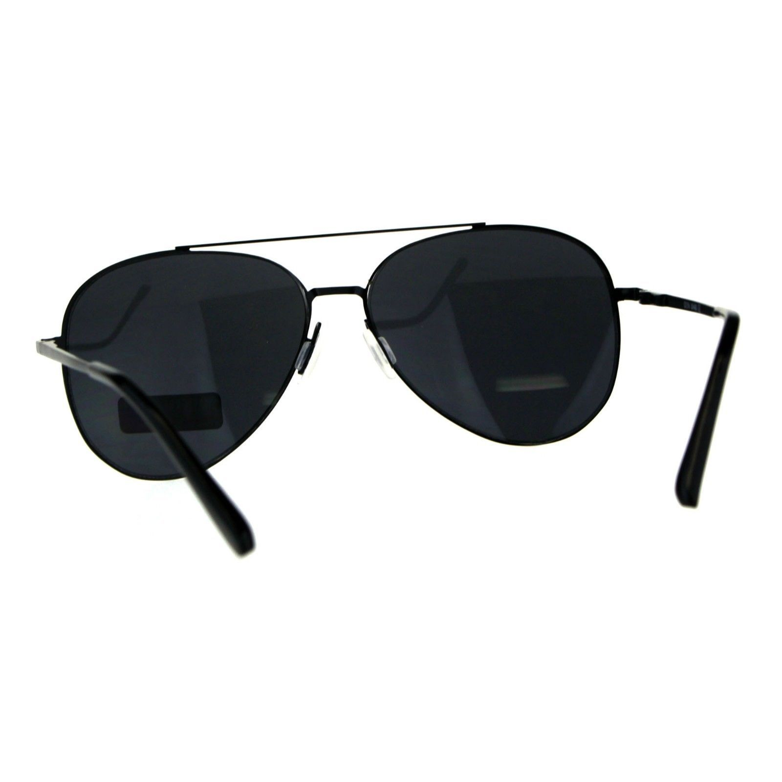 Unisex Aviator Sunglasses Thin Metal Spring Hinge Frame UV 400