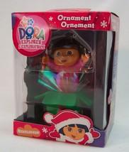 DORA THE EXPLORER in PRESENT Nick Jr Nickelodeon CHRISTMAS ORNAMENT 2007... - $14.85
