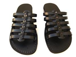 Leather Sandals for Women NEPTUN by SANDALIM Biblical Greek Roman Sandals - $39.83 CAD+