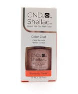 CND Shellac Brand 14+ Day Nail Color Color Coat Blushing Topaz .25FLOz - $15.83