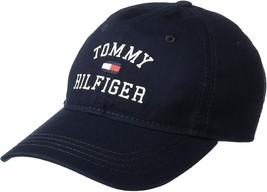 Tommy Hilfiger Men's Tommy Hat Embroidered Branding Logo Baseball Cap 6950130 image 2