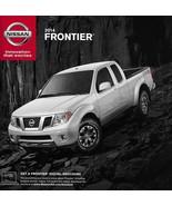 2014 Nissan FRONTIER brochure catalog sheet US 14 SV SL Desert Runner PR... - $6.00