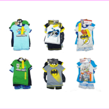 Komar Kids Boys 4 Piece Pajama Sleepwear Set  - $6.21+