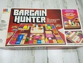Bargain Hunter Board Game Vintage 1981 Milton Bradley COMPLETE - $29.09