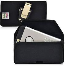 Turtleback Belt Clip Case for Apple iPhone 6S, Black Nylon Pouch with He... - $42.56
