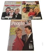 People Weekly Magazine lot of three Burt Reynolds Loni Anderson 1989 1993 - $16.82