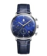 Asperö Blue/Blue 44m Chronograph Watch - $114.95