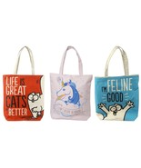 Simon's Cat Reusable Shopping Bag Shoulder Foldable Tote Bag woman's acc... - $15.43+