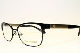 New Authentic Tory Burch TY1046 3100 Black Eyeglasses Frame Ty 1046 Rx 52-16 - $147.51