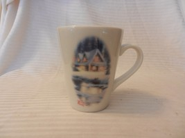 Thomas Kinkade Painter of Light Deer Creek Cottage Coffee Cup 1995 #9173 - $15.83