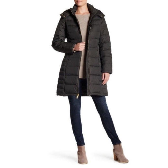 dcb596401c1 57. 57. Previous. NWT MICHAEL KORS Quilted Olive Down Lightweight Coat Zip Hood  Plus Size 3X  299 · NWT MICHAEL ...