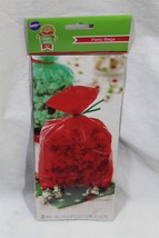 Wilton treat party bags red new in package 20 bags - $4.99