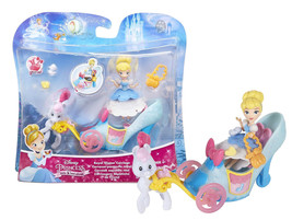 Disney Princess Little Kingdom Royal Slipper Carriage with Cinderella Do... - $14.88