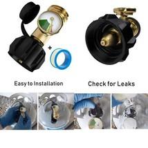 Shinestar Propane Tank Gauge Level Indicator Leak Detector Gas Pressure ... - $12.00