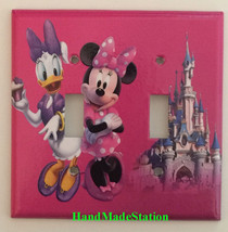 Minnie Mouse Daisy CupCake Light Switch Power Outlet Wall Cover Plate decor image 6