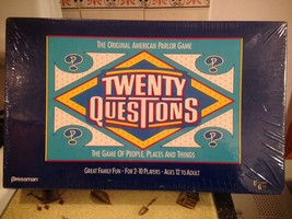 Twenty Questions The Original American Parlor Game Family Fun Rare New S... - $22.99