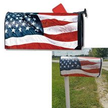 Mailwraps Stars and Stripes Mailbox Cover American Flag Magnetic USA Made - $24.75