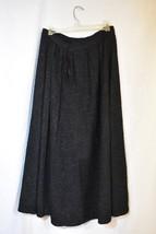 Black Victorian Skirt Victorian Clothing Antique Wool Skirt - $149.99