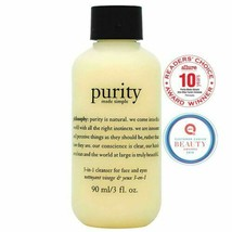 2 Philosophy Purity Made Simple One step Facial Cleanser 3fl.oz  = 6 0Z - $19.79