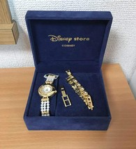 Disney store Japan Cinderella pearl bracelet Watch limited item bangle - $163.35