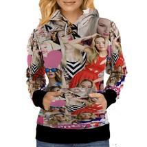 Iggy Azalea Music Collage WOMENS HOODIE image 2