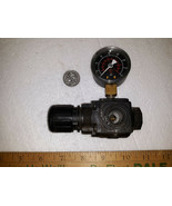 21BB00 REGULATOR ASSEMBLY FROM SEARS 16037 AIR COMPRESSOR, 100 PSI RATED... - $12.78