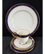 Lenox WINSLOW CASTLE Dinner And Bread Plate Cup Saucer 4 pcs - $74.76