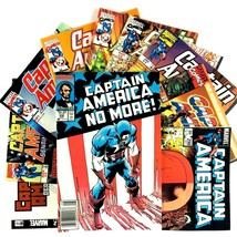 Captain America 10 Comic Book Lot Marvel Mixed Titles VF NM Falcon Red S... - $24.70