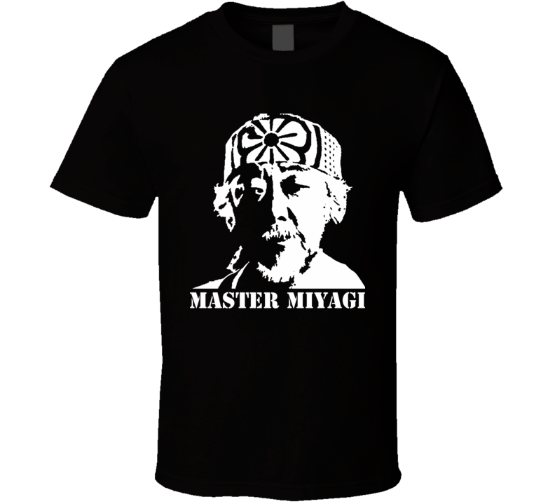 Primary image for Mr Miyagi Karate Kid Movie T Shirt