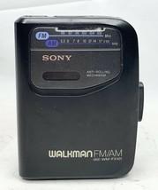 Vintage Sony Walkman Portable AM/FM Radio Cassette Player WM-FX101 Not T... - $35.99
