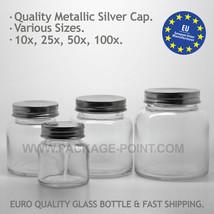 Glastiegel x25 x50 x100 Gläser Klarglas inkl. S... - $64.47 - $434.47