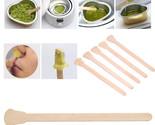 50 Pcs Wooden Waxing Wax Spatula Tongue Disposable Bamboo Sticks Hair Removal Cr