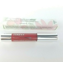 Clinique Chubby Stick INTENSE Lip Colour Balm #03 Mightiest Maraschino READ - $9.85