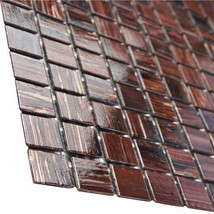 Merola Tile Coppa Auburn 12 in. x 12 in. x 4 mm Glass Mosaic Tile 10 PC... - $53.22