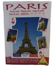 New Sealed Piatnik Paris Playing Cards Features Views Of Paris In 6 Lang... - $41.12